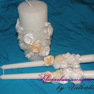 """Весільні свічки """"Наречена"""""""