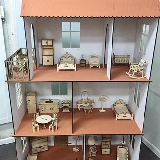 Кукольный домик 1102 (для Барби)
