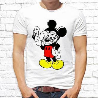 Мужская футболка Push IT с принтом Микки Маус ФП002085