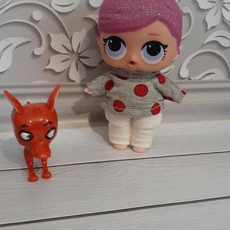 Костюм для кукол Лол 12 см.