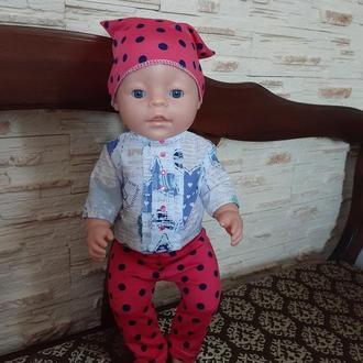 Одежда для кукол Беби Борн. Набор. Набор одежды для кукол.