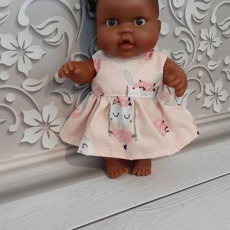 Одежда для пупса Паола Рейна. Девочка. Красивое и нежное платье.