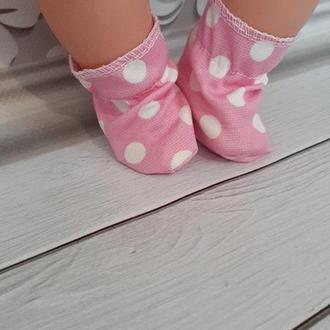 Красивые носочки для кукол Беби Борн.