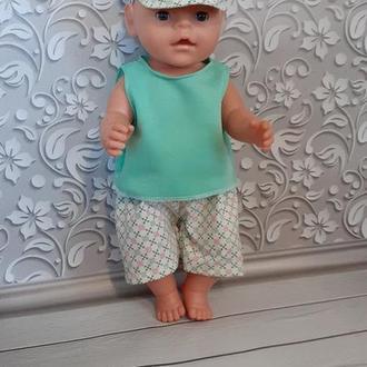 Летняя одежда для кукол Беби Борн. Мальчик.