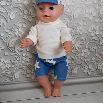 Набор красивой одежды для кукол Беби Борн.