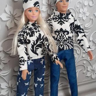 Набор одежды для Кена и Барби. Подарок для девочки на любое торжество.