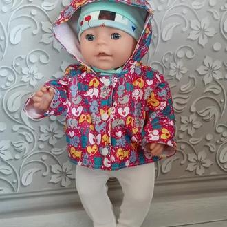 Одежда для кукол Беби Борн. Набор 4 в 1