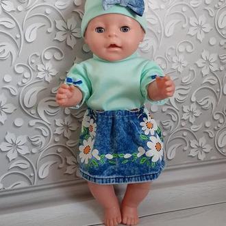 Набор летней одежда для кукол Беби Борн.