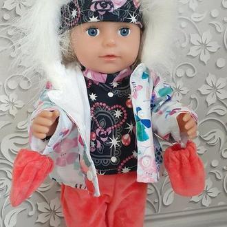 Набор зимней одежды для кукол Старшей сестрички. 5 в 1