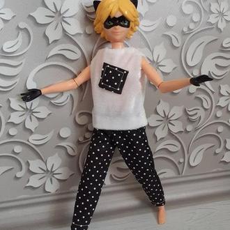 Набор одежды для куклы Супер - Кот.