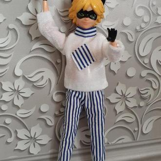 Одежда для куклы Супер - Кот. Набор. Ручная работа!