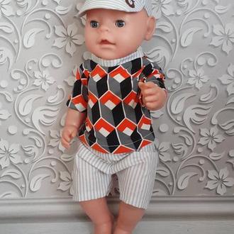 Летний набор одежды для кукол Беби Борн.