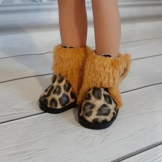 Зимние ботинки для кукол Паола Рейна.