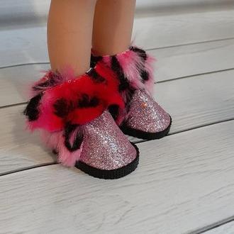 Ботинки зимние для кукол Паола Рейна.