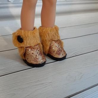 Зимняя обувь для кукол Паола Рейна.
