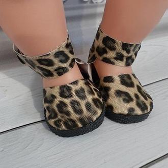 Туфли с застежкой для кукол Беби Борн.