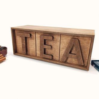 Чайный комод Шкатулка для чая Чайный домик