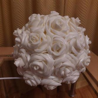 Светильник - розы из изолона