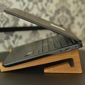 "Подставка для ноутбука ""Колотушка"" деревянная дуб"