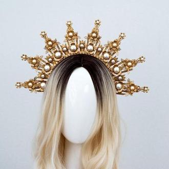 Корона / Кокошник / Ободок для волос
