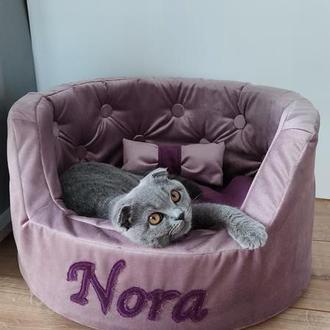 Именная лежанка для кошки/собаки