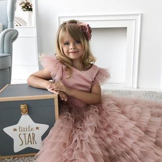 Детское платье Мисси атлас