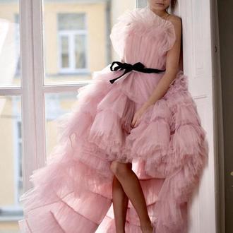 Нарядное платье на свадьбу Виржини