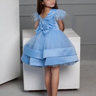 Короткое детское платье Мёрфи