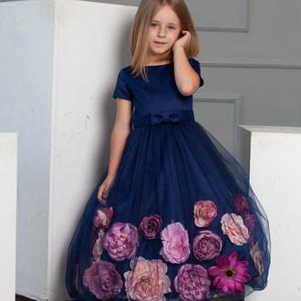 Выпускное платье для девочки Мэллоу 104