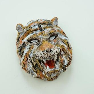Маска интерьерная тигр Оберег для защиты дома