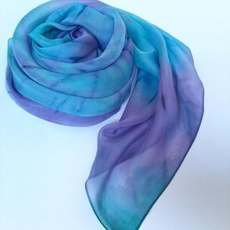 Шелковый платок tie-dye