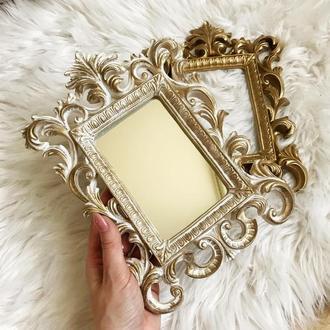 Винтажное зеркало для макияжа