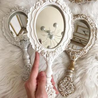 Сказочное винтажное зеркало под старину