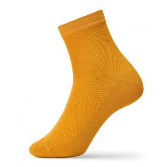 Яркие мужские носки с сеткой оранжевый