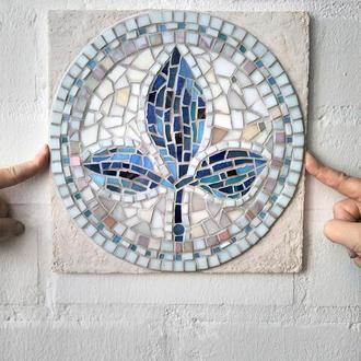 Декоративне панно «Blue Leaf»