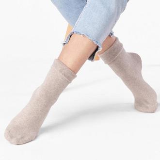 Женские носки с отворотом