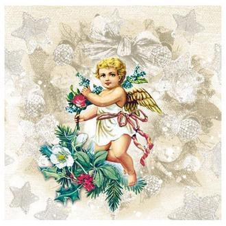 Салфетка Рождественский ангел  2-4998