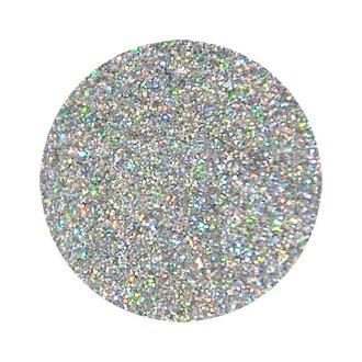 Сухие блестки, 12 гр  0,2 мм серебро голограмма