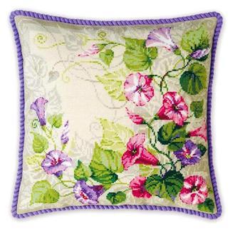 Набор для вышивки подушки Вьюнки