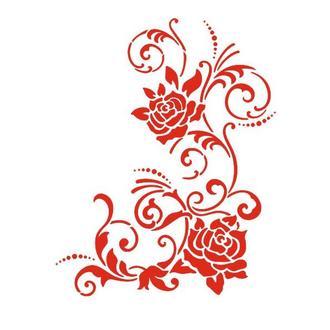 Трафарет 22х33 см Вьющая роза