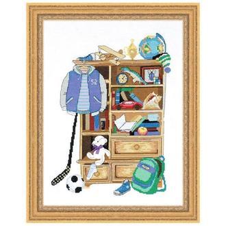 Набор для вышивки Шкафчик для мальчика
