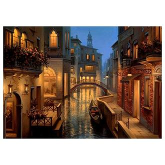 Бумага для декупажа 21х30 см Вечер в Венеции