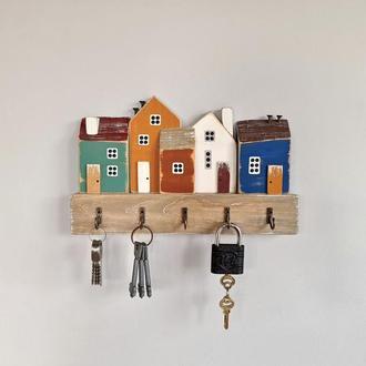Ключниця настінна 'Древній град' - Ключниця для будинку