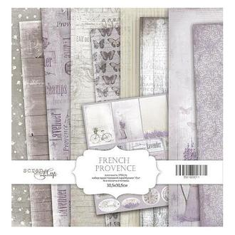 Бумага для скрапбукинга 30х30см French Provence 10 листов