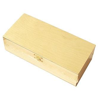 Шкатулка деревянная с замком 20х9х5,5 см, Albero
