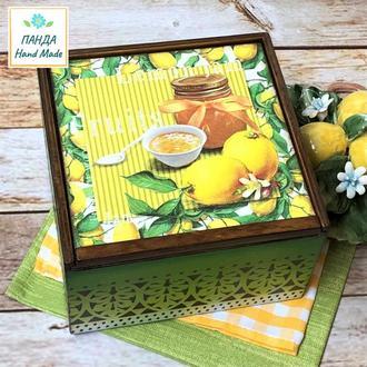 "Короб для кухни ""Лимоны"""
