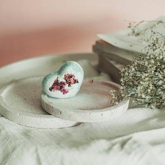 Бомбочка для ванны Сердце