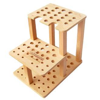 Подставка для кистей деревянная двухъярусная Dominatore