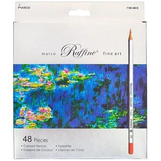 Набор цветных карандашей Marco Raffine 48 цв. (картон)