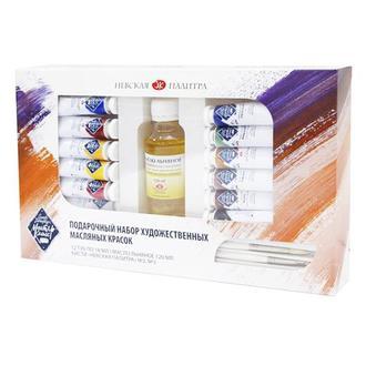 Подарочный набор масляных красок Мастер-Класс 12х18 мл